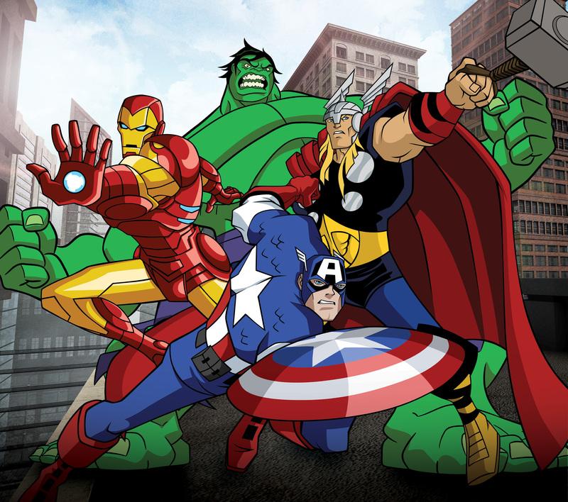 Avengers, l'équipe des super-héros