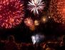 Le concert de Paris et le feu d'artifice