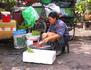 Bangkok, insectes frits à toute heure