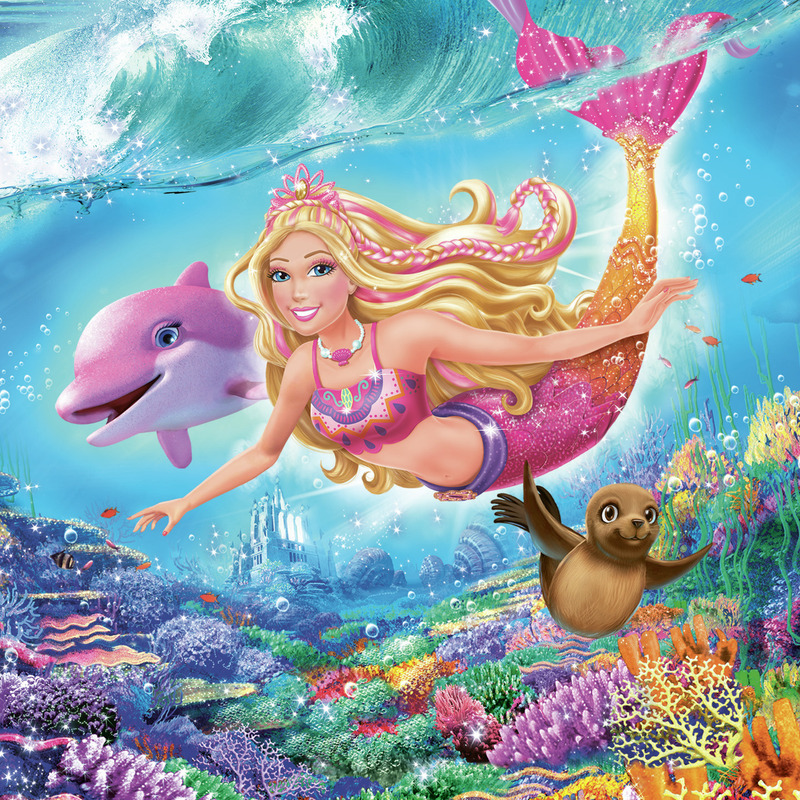 Barbie le secret des sir nes 2 film 2012 t l star - Dessin de barbie sirene ...